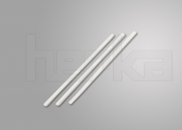 Heftbänder kunststoffummantelt ohne Endkappen 160 mm Länge | weiß ummantelt | VE = 1.000 Stück
