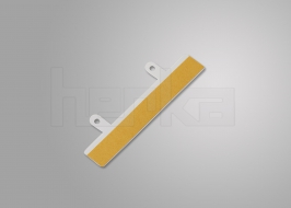 Abheftvorrichtungen aus Kunststoff mit langen Laschen