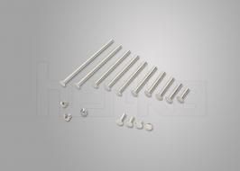 Buchschrauben aus Stahl Schaft-Ø 5mm, ab 2 mm Länge