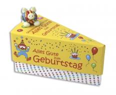 Geschenkschachtel Torte, sortiert, Kinder, 6 Stück