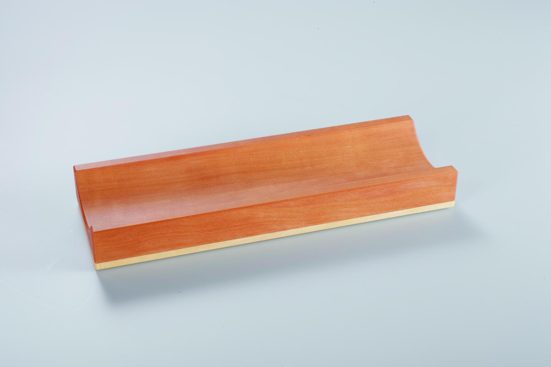 Klebefilmabroller Schnecke aus Holz Ahorn und Birne